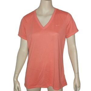 Nike Dri-Fit V-Neck Tee Casual Athletic Fitness